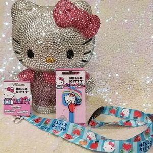 Hello Kitty Blank Key & Lanyard